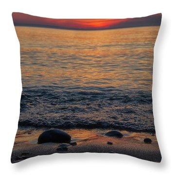 Sleeping Bear Bay 2 Throw Pillow