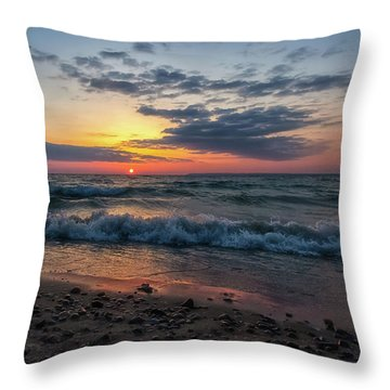 Sleeping Bear Bay 3 Throw Pillow