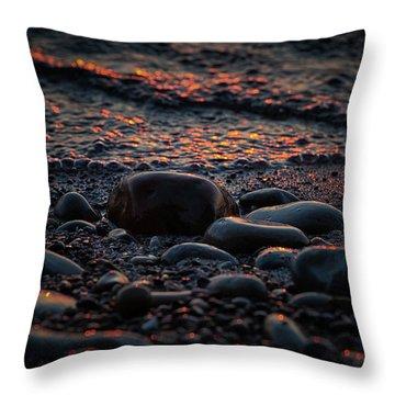 Sleeping Bear Bay 5 Throw Pillow