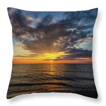 Sleeping Bear Bay 6 Throw Pillow