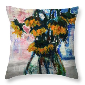 Sleeping Beauties Throw Pillow