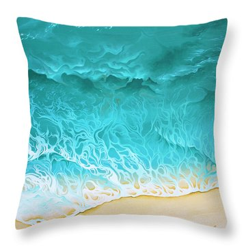 Slow Rollers Throw Pillow