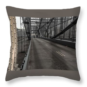 Smithfield Street Bridge Throw Pillow