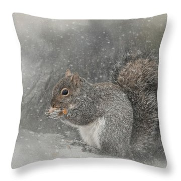 Snack Time Throw Pillow