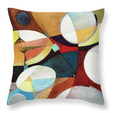 Snare And Hi-hat Throw Pillow