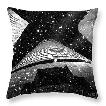Snow Collection Set 01 Throw Pillow