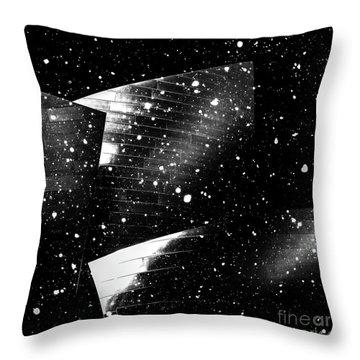 Snow Collection Set 02 Throw Pillow