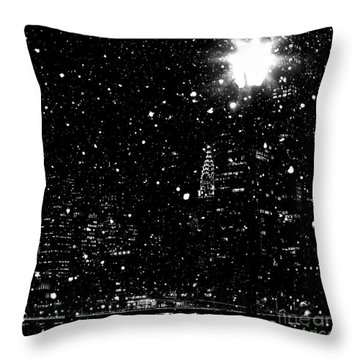 Snow Collection Set 11 Throw Pillow