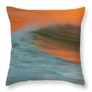 Soft Wave Throw Pillow