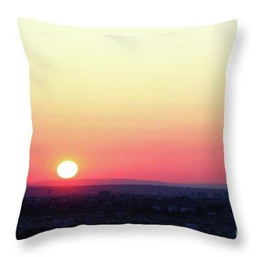 Solar Tangent Throw Pillow
