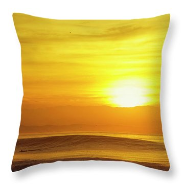 Throw Pillow featuring the photograph Solo by Nik West
