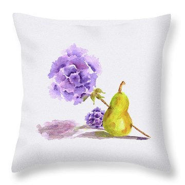 Sometimes Love Hurts Throw Pillow
