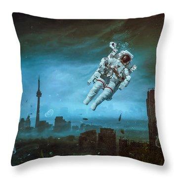 Sometimes Throw Pillow