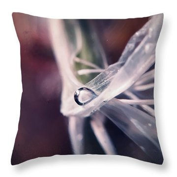 Sometimes The Alien Comes By, We Get Along Throw Pillow