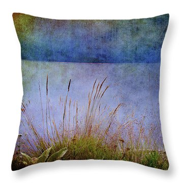 Throw Pillow featuring the photograph Somewhere Far Away by Milena Ilieva