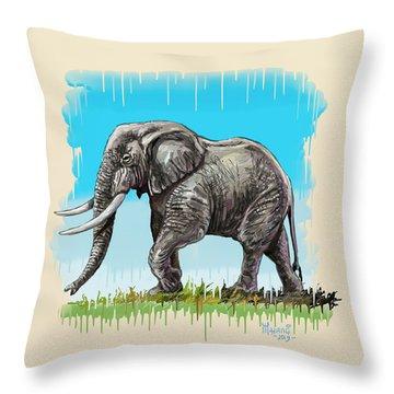 Son Of Africa Throw Pillow
