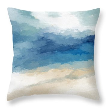 Soothing Memory- Art By Linda Woods Throw Pillow