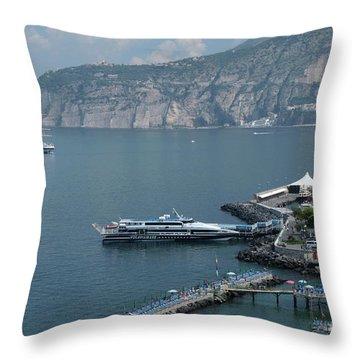 Sorrento Port Throw Pillow