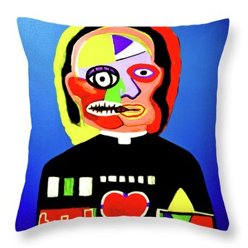 Soul Control Throw Pillow