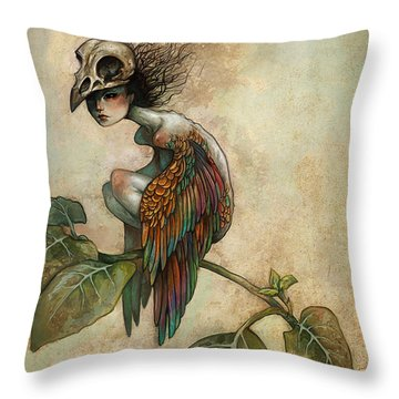 Soul Of A Bird Throw Pillow