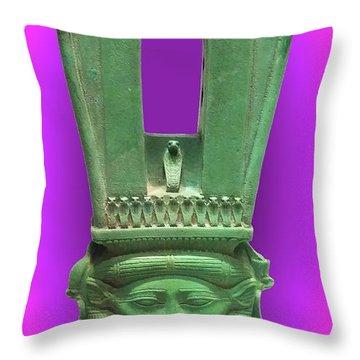 Sound Machine Of The Goddess Throw Pillow