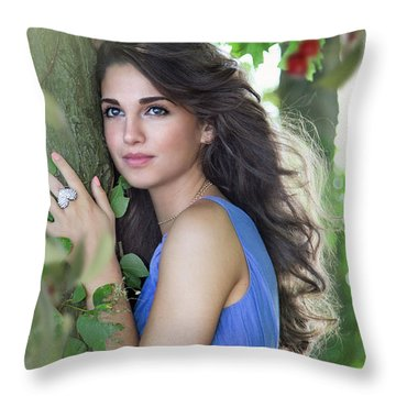 Sound Of Your Heart Throw Pillow