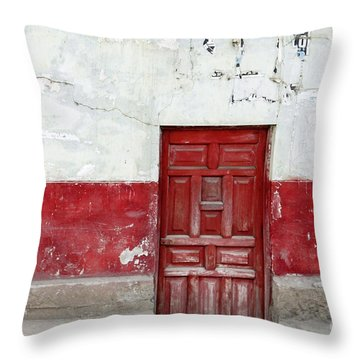 Sous Sol Throw Pillow