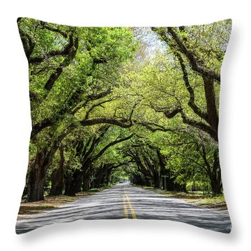 South Boundary Ave Aiken Sc Throw Pillow