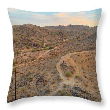 South Mountain Throw Pillow