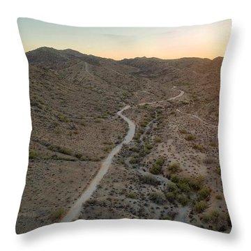 South Mountain Canyon Throw Pillow