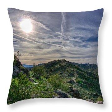 South Mountain Depth Throw Pillow