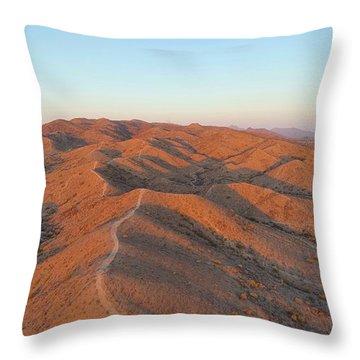 South Mountain Sunrise Throw Pillow