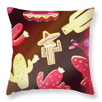 Southern Flavors  Throw Pillow