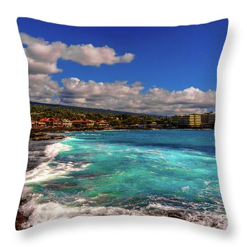 Southern View Of The Shore Throw Pillow