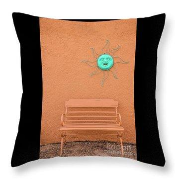 Southwestern Bench  Throw Pillow