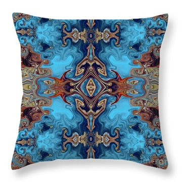 Throw Pillow featuring the digital art Soy Un Moresco  by A zakaria Mami