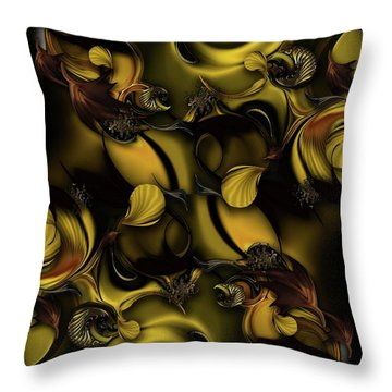 Space Of Life Throw Pillow