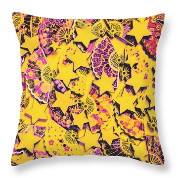 Spanish Flamenco Vision Throw Pillow
