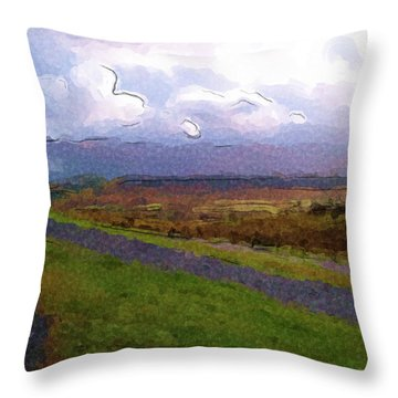 Spean Bridge Painting Throw Pillow