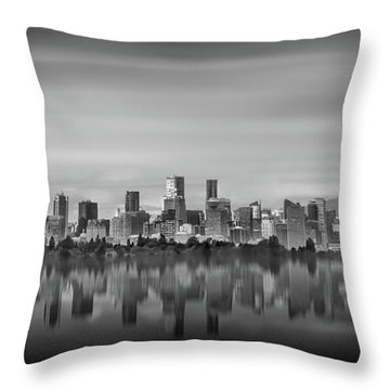 Special View Of Downtown Vancouver Throw Pillow