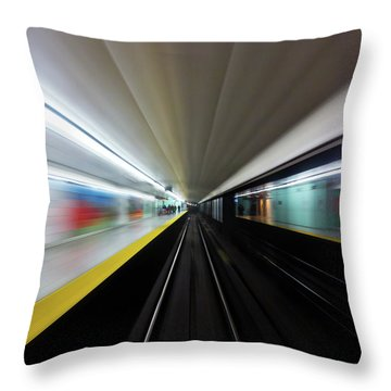 Speed 2 Throw Pillow