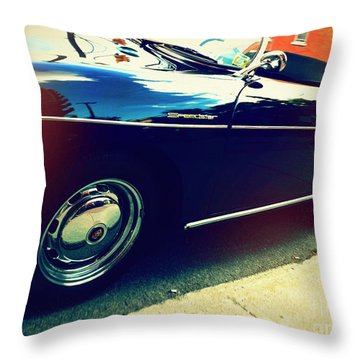 Speedster Throw Pillow