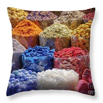 Souks Throw Pillows