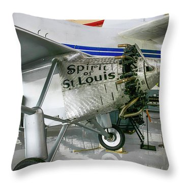 Spirit In Color Throw Pillow