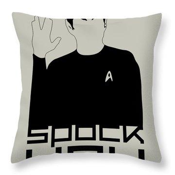 Spock You Throw Pillow