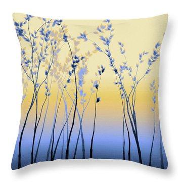 Spring Aspen Throw Pillow