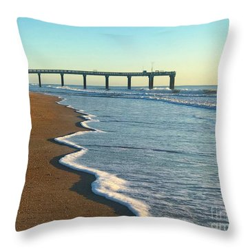 Throw Pillow featuring the photograph Spring Bliss by LeeAnn Kendall