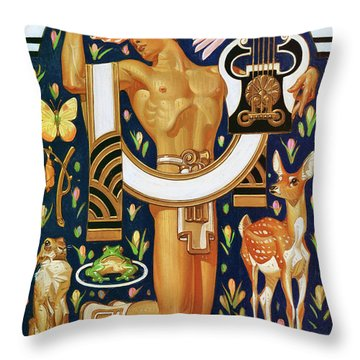 Spring - Digital Remastered Edition Throw Pillow
