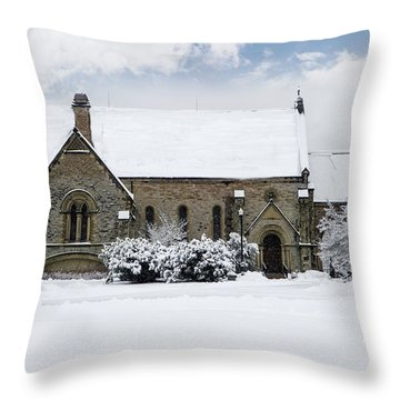 Spring Grove Chapel Throw Pillow