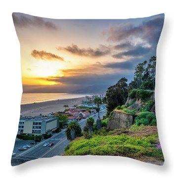Spring In The Park On The Bluffs Throw Pillow